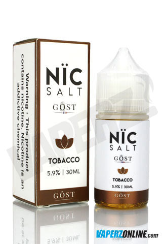 Gost Nic Salt - Tobacco - 30ml