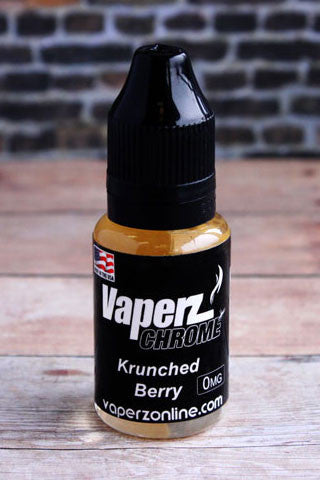 Vaperz Chrome - Krunched Berry - 15ml - Vaperz