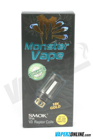 Monster Vape TFV4 Coil - 4 pack - Vaperz