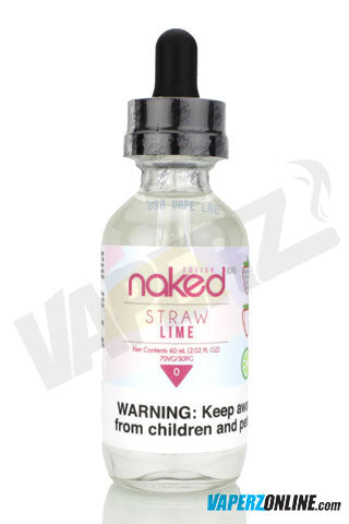 Naked 100 - Straw Lime - (Berry Belts Candy) - 60ml