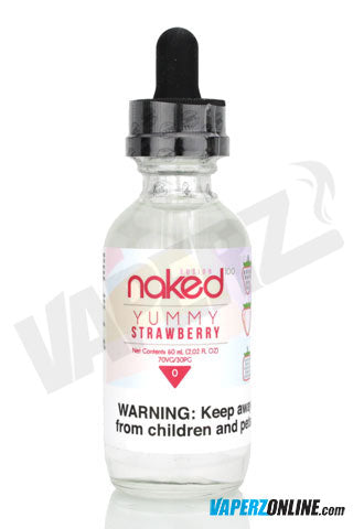 Naked 100 - Yummy Strawberry - 60ml