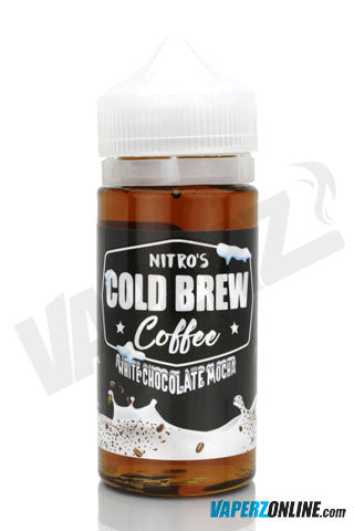 Nitro's Cold Brew Coffee - White Chocolate Mocha - 100ml