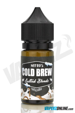 Nitro's Cold Brew Salted - Vanilla Bean - 30ml