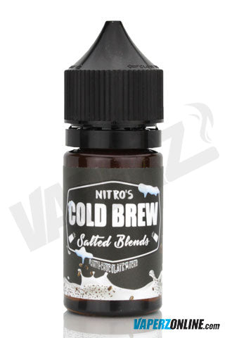 Nitro's Cold Brew Salted - White Chocolate Mocha - 30ml