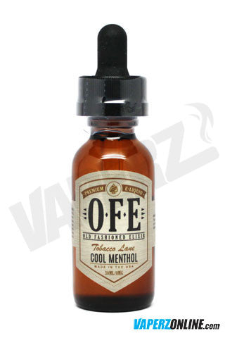 OFE (Old Fashioned Elixir) - Cool Menthol - 30ml