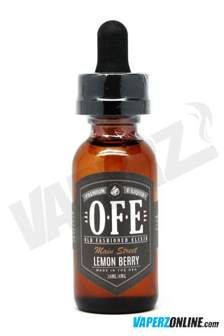 OFE (Old Fashioned Elixir) - Lemon Berry - 30ml - Vaperz