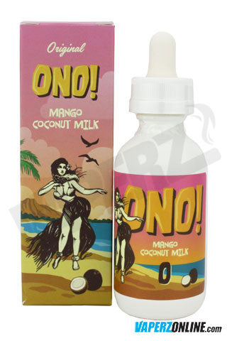 Ono eJuice - Mango Coconut Milk - 60ml