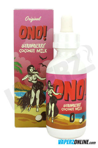 Ono eJuice - Strawberry Coconut Milk - 60ml