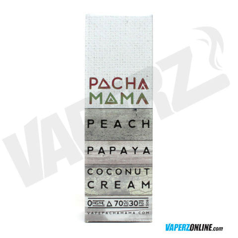 Pachamama - Peach Papaya Coconut Cream - 60ml