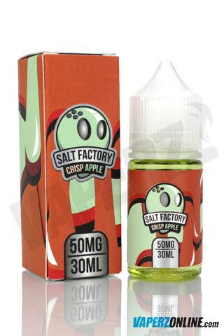 Salt Factory - Crisp Apple - 30ml