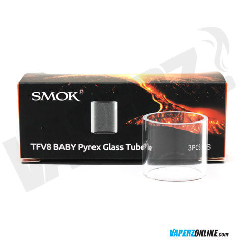 Smok - TFV8 Baby Replacement Glass Tube - 3 pack