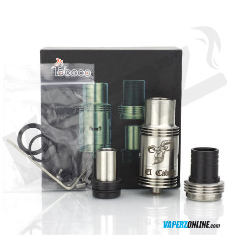 Tobeco - El Cabron with 3 Drip Tips - Vaperz