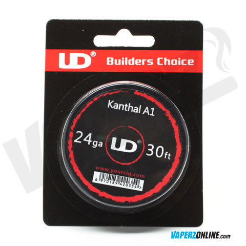 UD - 24ga Kanthal A1 Wire - 30ft Spool - Vaperz
