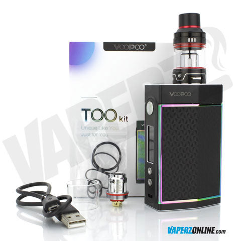 VOOPOO - TOO 180w TC Mod with UForce Sub Ohm Tank Kit - Vaperz