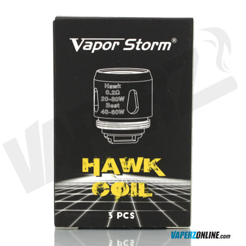 Vapor Storm - Hawk Replacement Coil - 3 Pack