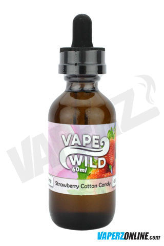 Vape Wild - Strawberry Cotton Candy - 60ml - Vaperz