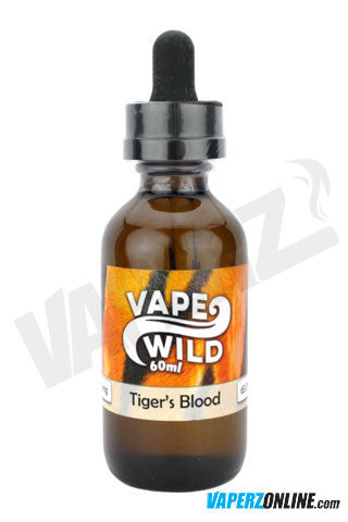 Vape Wild - Tiger's Blood - 60ml - Vaperz