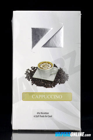 ZiiP Pods for Juul - Cappuccino - 4 pack - Vaperz