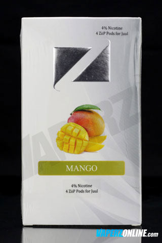 ZiiP Pods for Juul - Mango - 4 pack - Vaperz