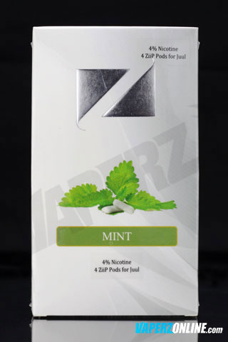 ZiiP Pods for Juul - Mint - 4 pack - Vaperz