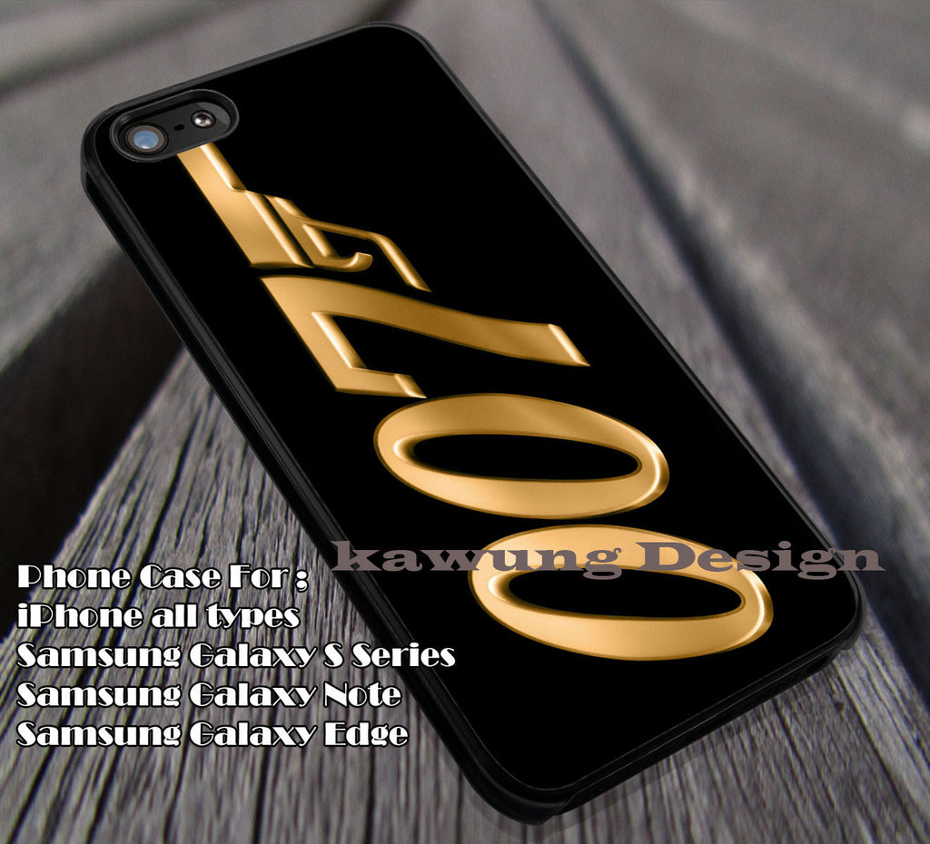 007 James Bond | Case/cover for iPhone 4/4s/5/5c/6/6+/6s/6s+ Samsung Galaxy S4/S5/S6/Edge NOTE 3/4/5 #movie dl1 - K-Designs