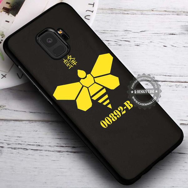 00892-B Breaking Bad Methylamine Bee Samsung Galaxy S9 Case