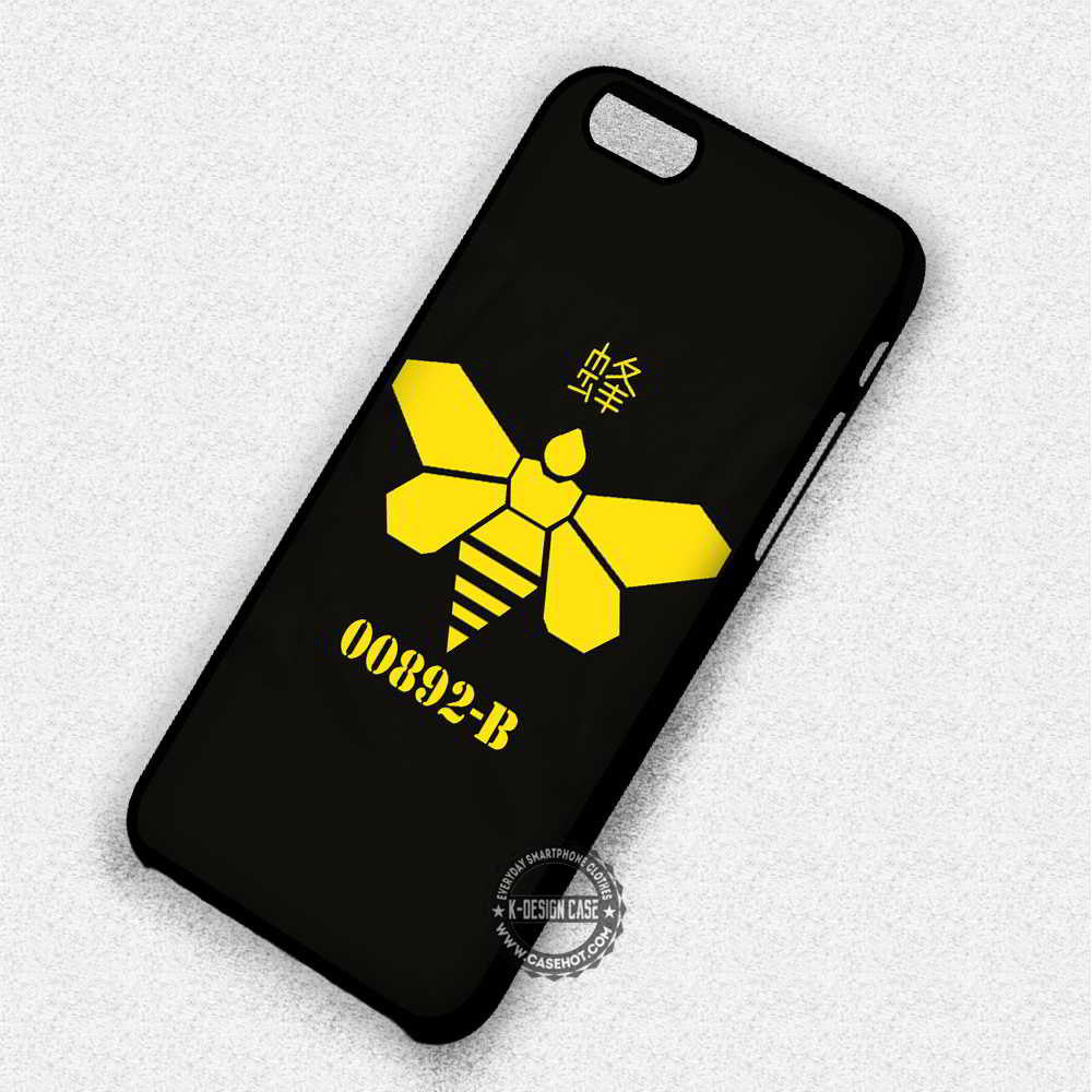 00892-B Breaking Bad Methylamine Bee - iPhone 7 6 Plus 5c 5s SE Cases & Covers - Kawung Design  - 1