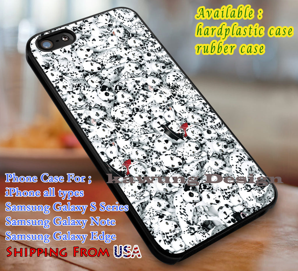 101 Polkadots  Cartoon iPhone 6s 6 6s+ 6plus Cases Samsung Galaxy s5 s6 Edge+ NOTE 5 4 3 #cartoon #animated #disney #Dalmatians dl3 - K-Designs