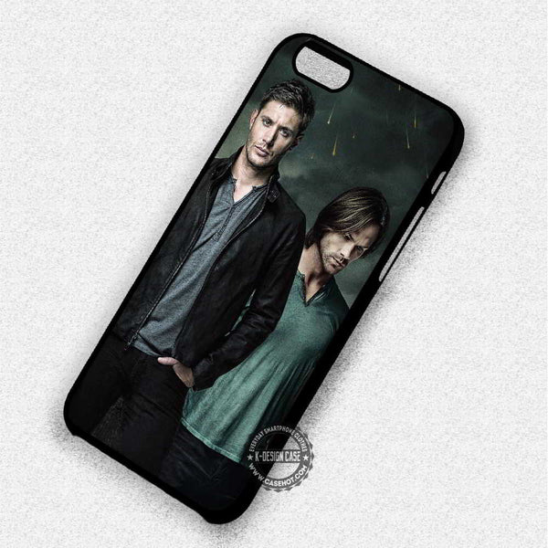 10th Season Supernatural - iPhone 7 6 Plus 5c 5s SE Cases & Covers - Kawung Design  - 1