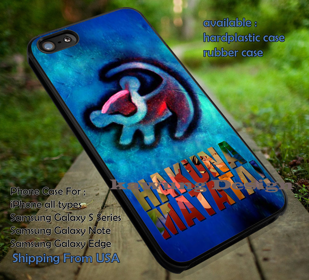 Blue Red Tattoo Simba Lion King iPhone 8+ 7 6s Cases Samsung Galaxy S8 S7 edge NOTE 8 5 4