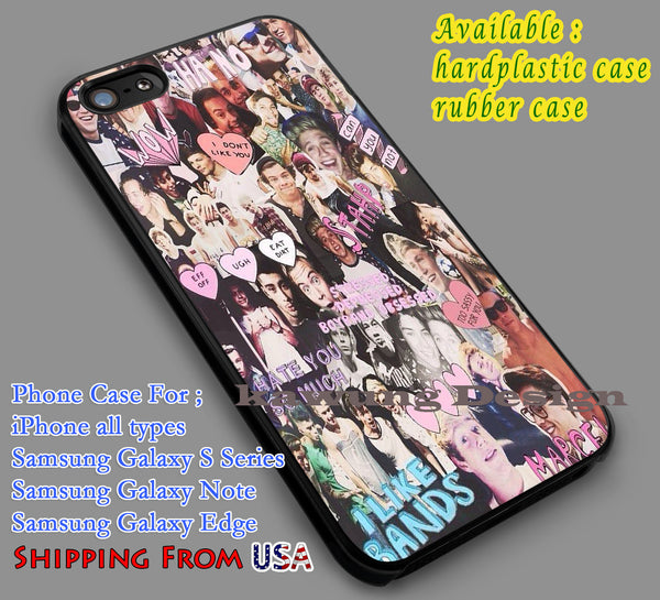 1D Collage iPhone 6s 6 6s+ 5c 5s Cases Samsung Galaxy s5 s6 Edge+ NOTE 5 4 3 #music #1d dl7 - K-Designs