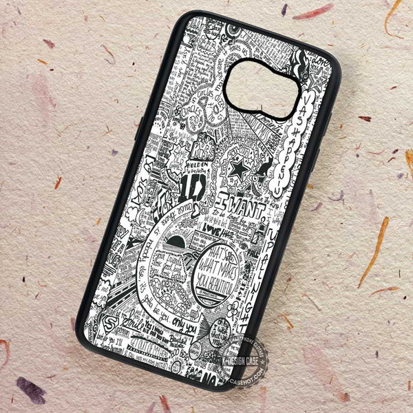 1D Love Fan Art Collage - Samsung Galaxy S7 S6 S5 Note 7 Cases & Covers