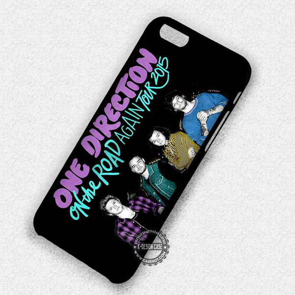 1D On The Road Again Without Zayn - iPhone 7 6s 5c 4s SE Cases & Covers - Kawung Design  - 1