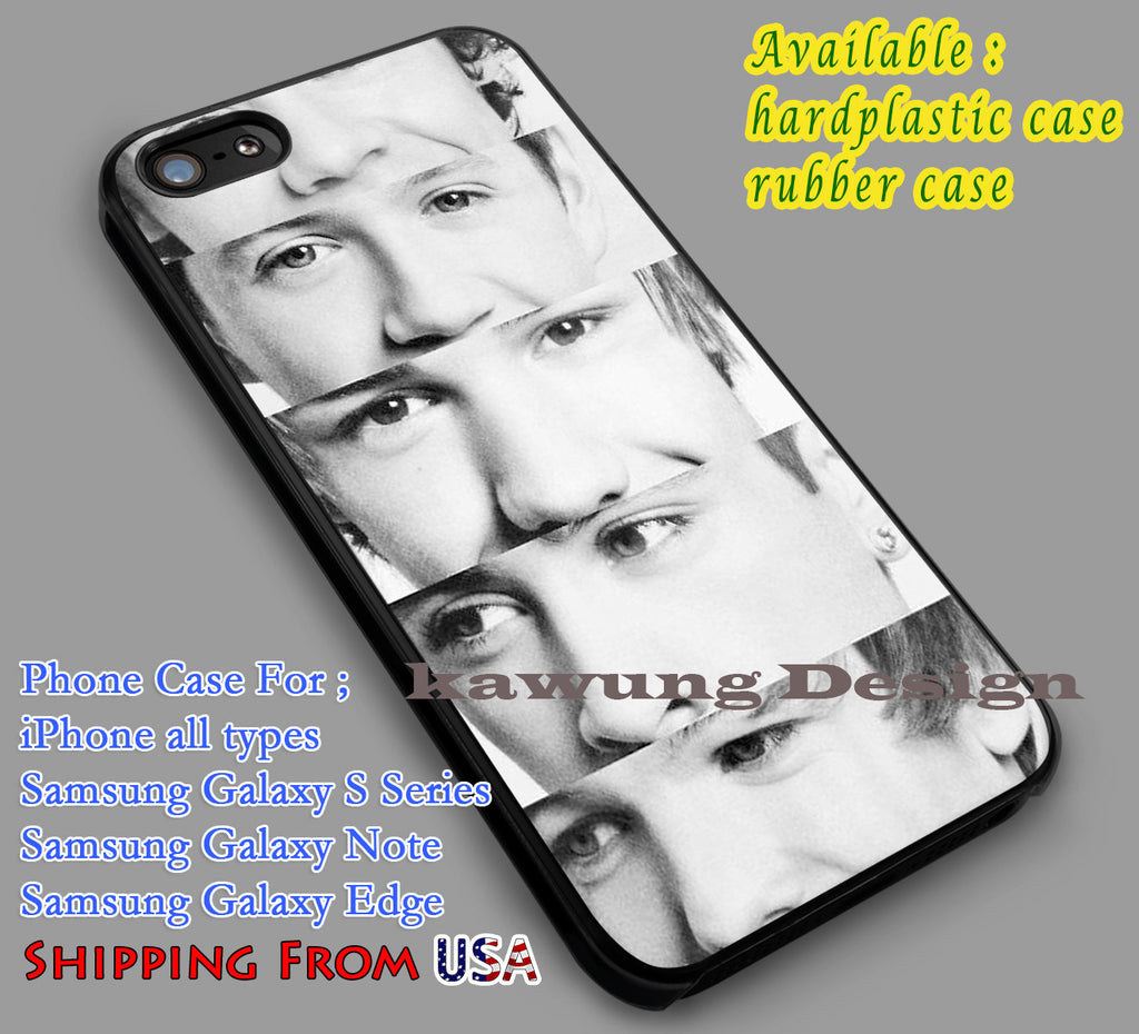 1 Direction Member's Eyes |  Music | Harry Styles iPhone 6s 6 6s+ 6plus Cases Samsung Galaxy s5 s6 Edge+ NOTE 5 4 3 #music #1d dl2 - K-Designs
