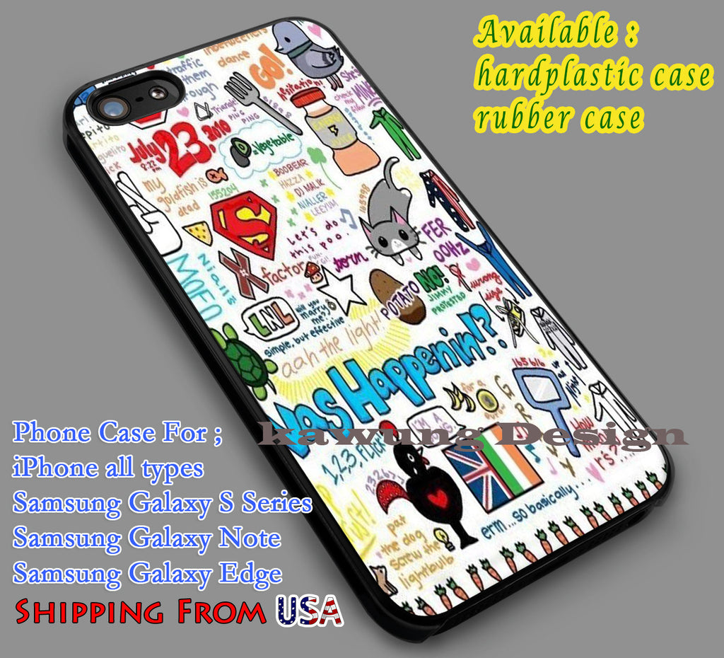 1 Direction Quote Art iPhone 6s 6 6s+ 5c 5s Cases Samsung Galaxy s5 s6 Edge+ NOTE 5 4 3 #music #1d dl7 - K-Designs