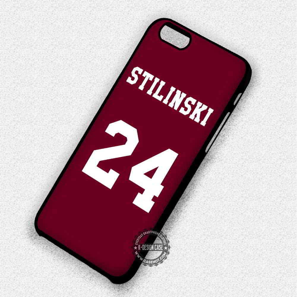24 Teen Wolf Stilinski Lacrosse Jersey - iPhone 7 6 Plus 5c 5s SE Cases & Covers - Kawung Design  - 1