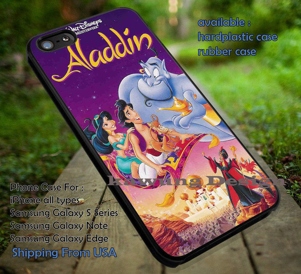 Arabia Night, Walt Disney, Aladdin, Jasmine, Flying Carpet, case/cover for iPhone 4/4s/5/5c/6/6+/6s/6s+ Samsung Galaxy S4/S5/S6/Edge/Edge+ NOTE 3/4/5 #cartoon #animated #aladdin #disney ii - Kawung Design  - 1