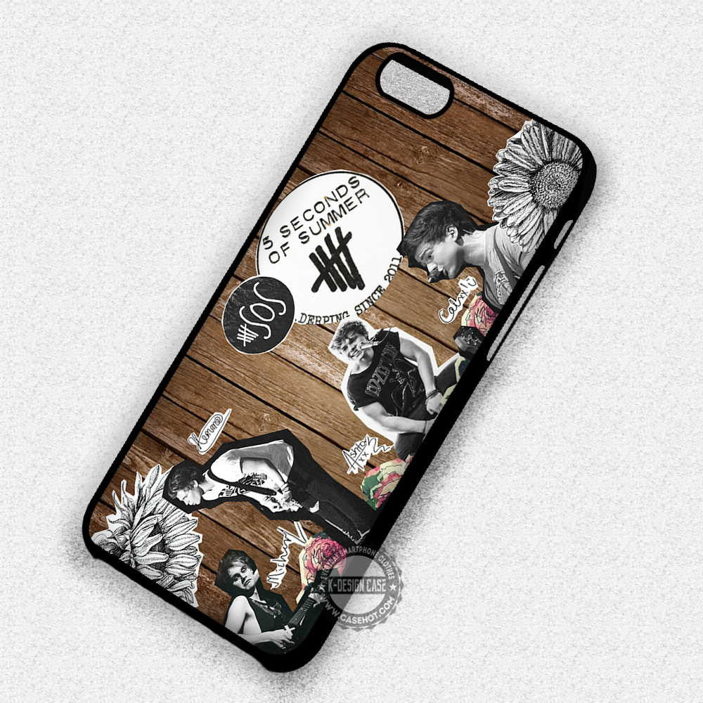 5 Second of Summer Popular Band - iPhone 7 Plus 6S SE Cases & Covers - Kawung Design  - 1