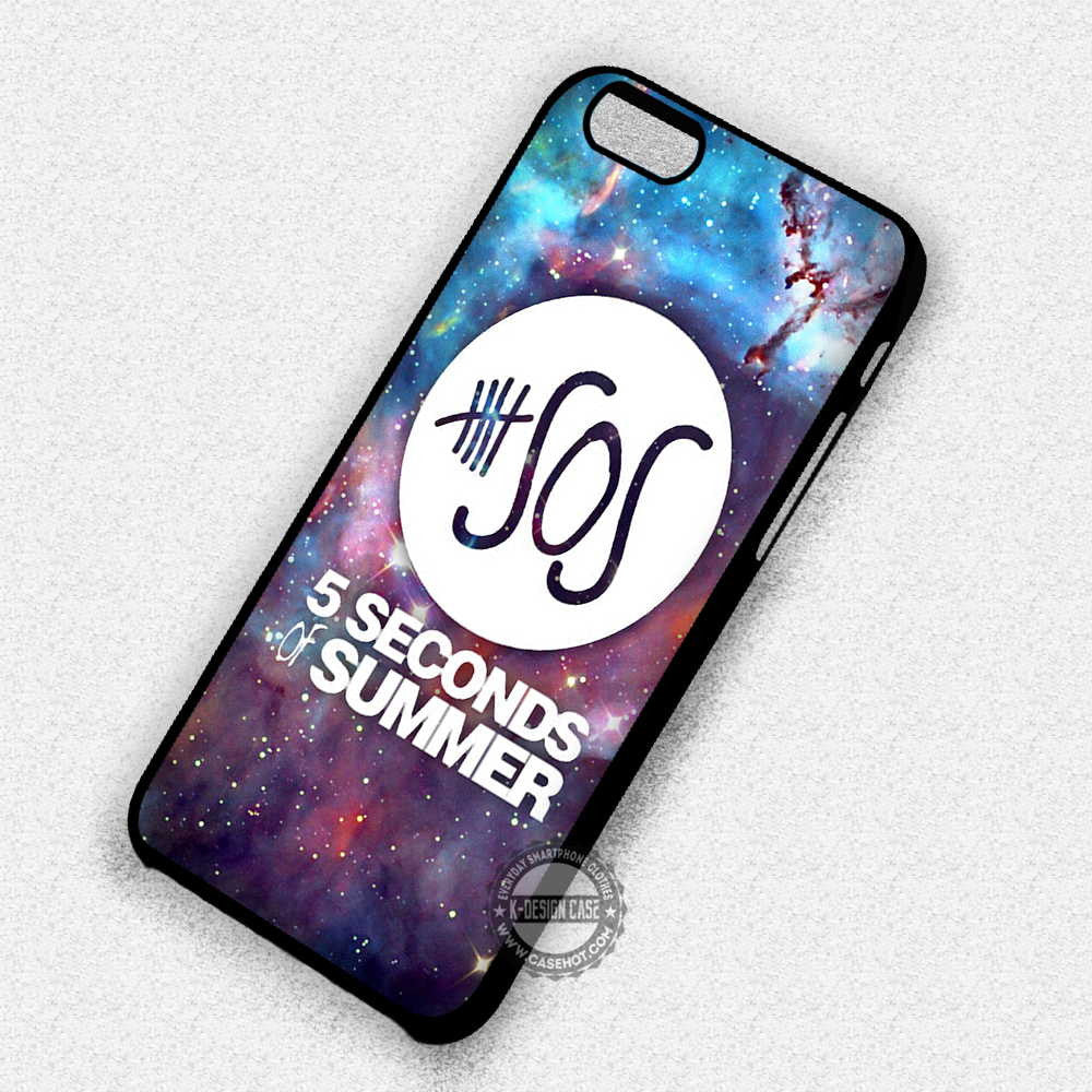 5 Seconds of Summer Logo - iPhone 7 Plus 6S 5 Cases & Covers - Kawung Design  - 1