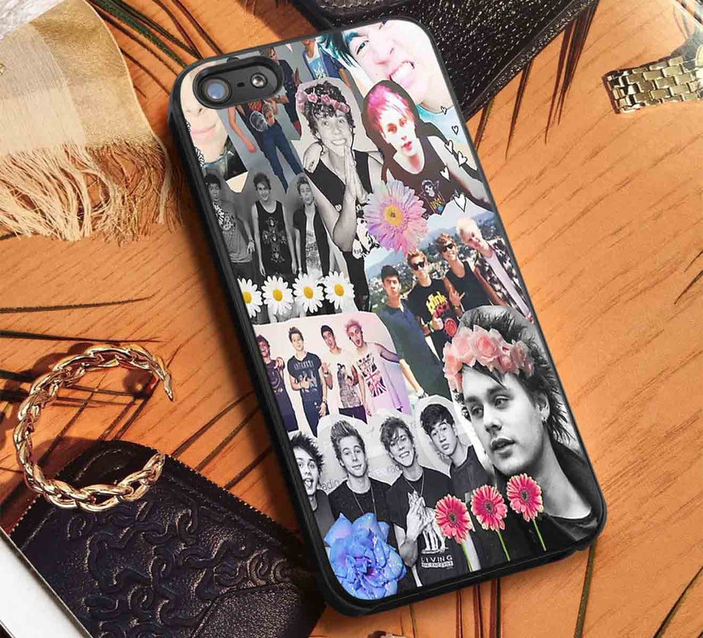 5Seconds Of Summer Collage iPhone 6s 6 6s+ 5c 5s Cases Samsung Galaxy s5 s6 Edge+ NOTE 5 4 3 #music #5sos lk - K-Designs