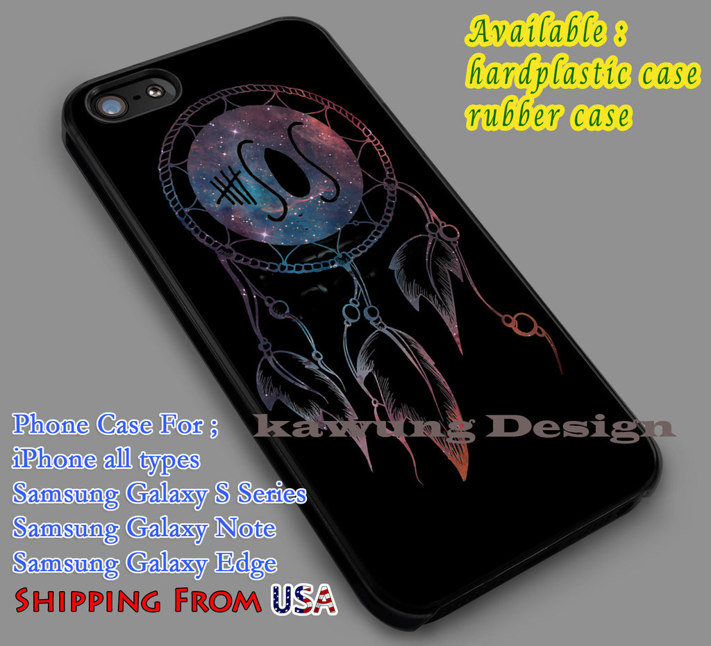 5SOS Dreamcatcher Nebula iPhone X 8+ 7 6s Cases Samsung Galaxy S8 S7 edge NOTE 8 5 4