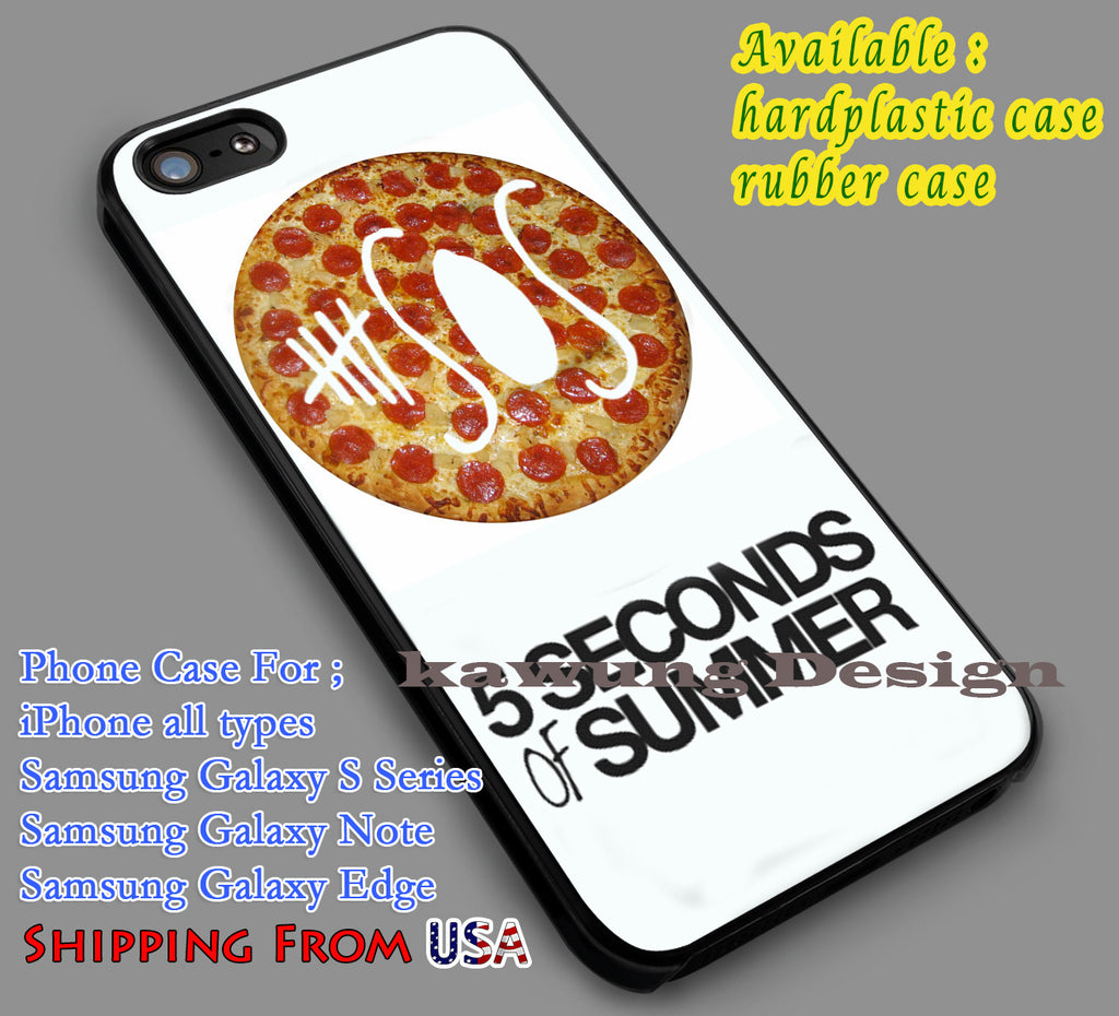 5SOS Pizza Logo iPhone 6s 6 6s+ 5c 5s Cases Samsung Galaxy s5 s6 Edge+ NOTE 5 4 3 #music #5sos dl7 - K-Designs