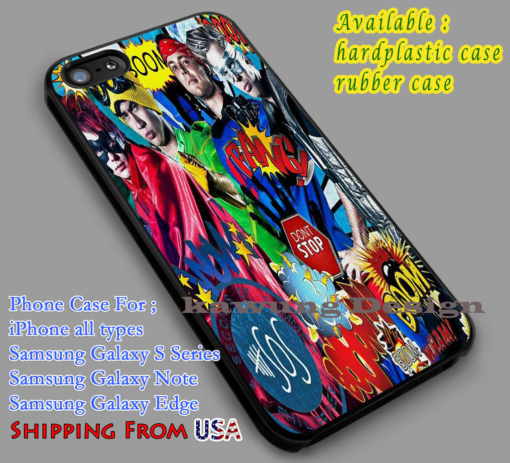 5SOS Superhero Art iPhone 6s 6 6s+ 5c 5s Cases Samsung Galaxy s5 s6 Edge+ NOTE 5 4 3 #music #5sos dl5 - K-Designs
