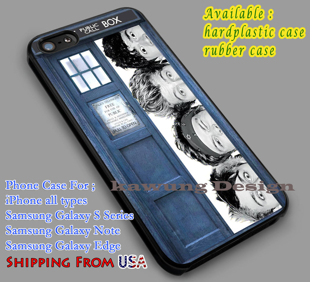 5SOS Tardis Dr Who iPhone 6s 6 6s+ 5c 5s Cases Samsung Galaxy s5 s6 Edge+ NOTE 5 4 3 #music #5sos #doctorWho dl5 - K-Designs