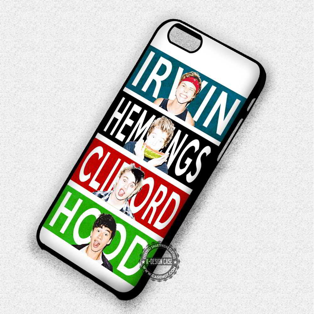 5 Seconds Of Summer - iPhone 7 6S 5 SE 4 Cases & Covers - Kawung Design  - 1