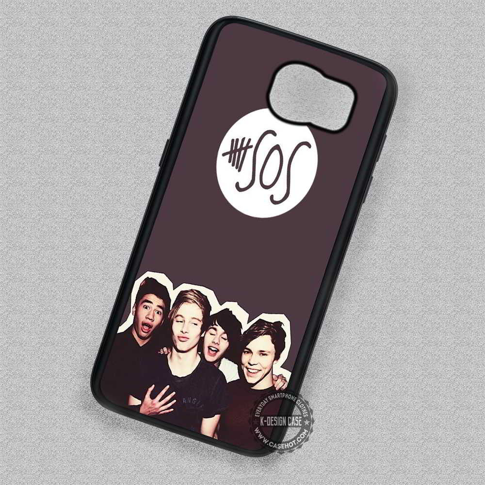 5 Seconds Of Summer 5sos - Samsung Galaxy S7 S6 S5 Note 4 Cases & Covers - Kawung Design  - 1