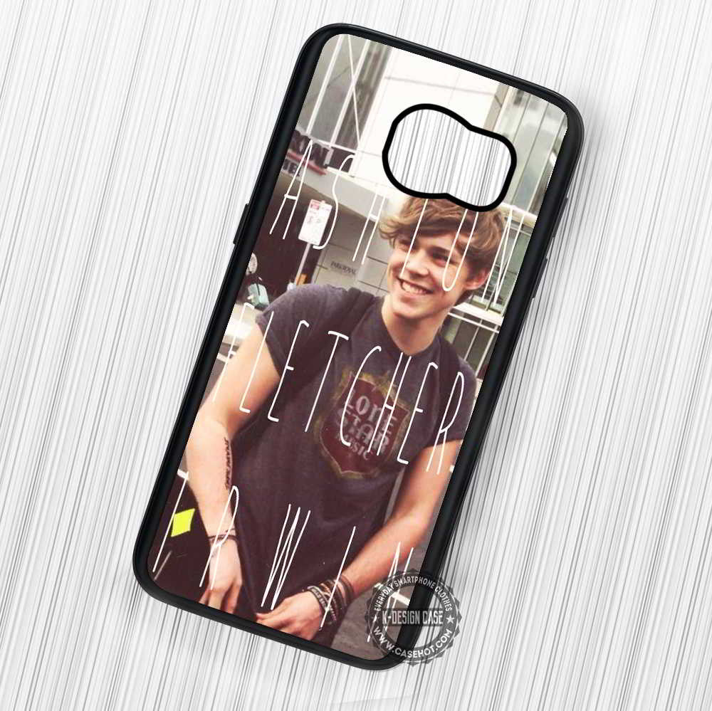 5 Seconds of Summer Ashton Irwin Full Name - Samsung Galaxy S7 S6 S5 Note 7 Cases & Covers - Kawung Design  - 1