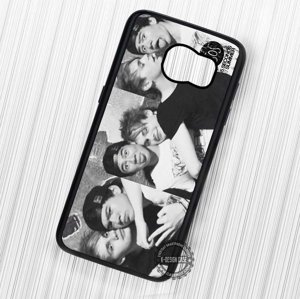 5 Seconds of Summer Calum and Clifford Funny - Samsung Galaxy S7 S6 S5 Note 7 Cases & Covers - Kawung Design  - 1