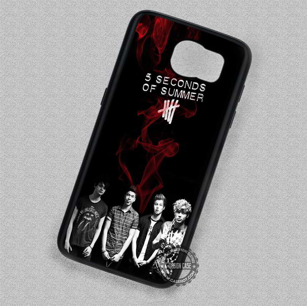 5 Seconds of Summer Music Band - Samsung Galaxy S7 S6 S4 Note 7 Cases & Covers - Kawung Design  - 1