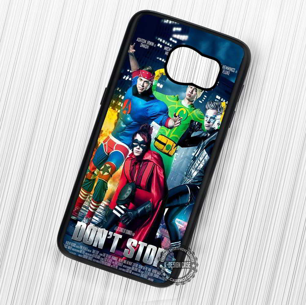 5 Seconds of Summer Don't Stop Superhero Version - Samsung Galaxy S7 S6 S5 Note 7 Cases & Covers - Kawung Design  - 1